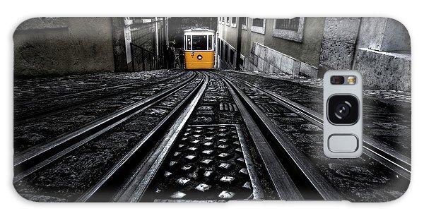 Lisbon Tram Galaxy Case by Jorge Maia