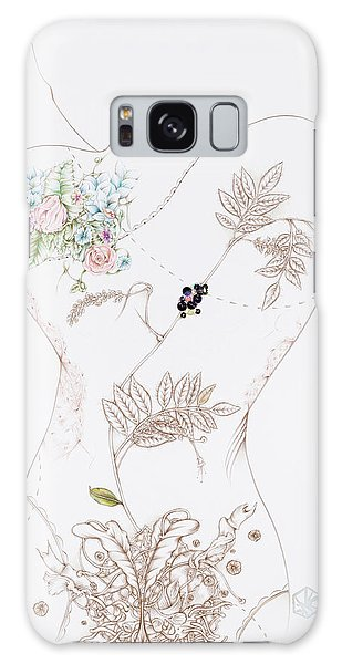 Lisette Galaxy Case by Karen Robey
