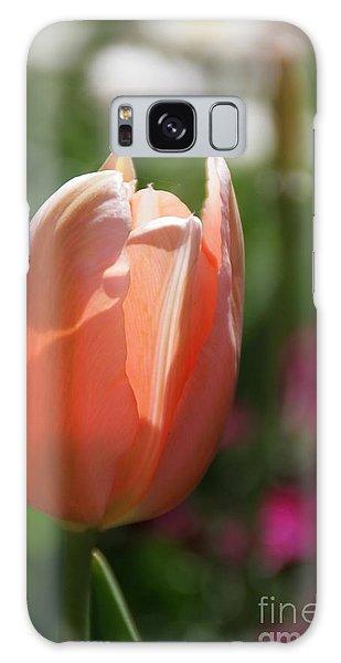 Lit Tulip 01 Galaxy Case by Andrea Jean