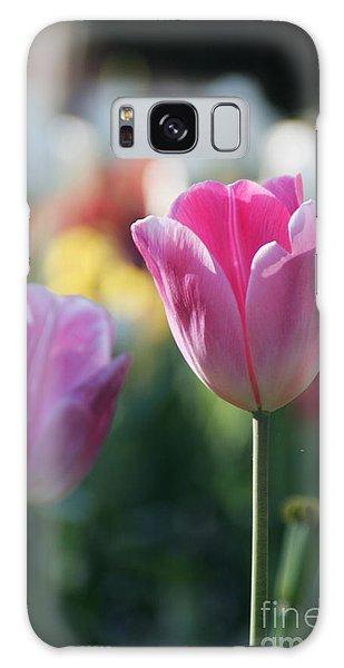 Lit Tulip 05 Galaxy Case by Andrea Jean