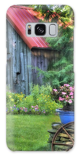 Litchfield Hills Summer Scene Galaxy Case