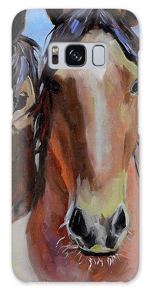 Litchfield Homies Galaxy Case by Pattie Wall