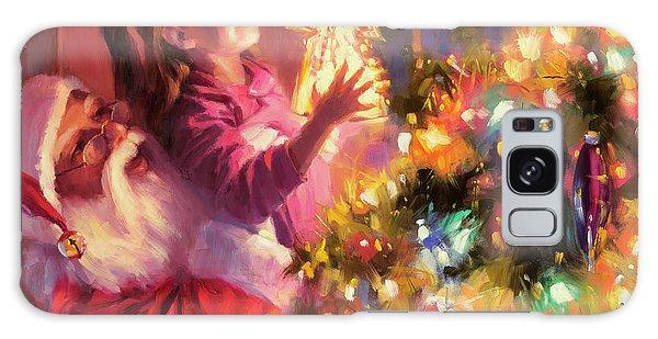 Santa Claus Galaxy Case - Little Angel Bright by Steve Henderson