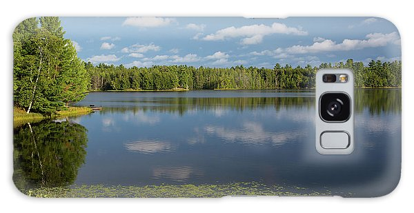 Northwoods Lake Reflections Galaxy Case