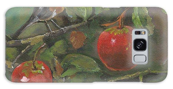 Little Bird In The Apple Tree Galaxy Case