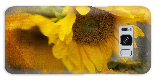 Little Bit Of Sunshine Galaxy Case by Beverly Stapleton