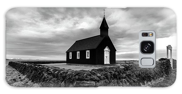 Iceland Galaxy S8 Case - Little Black Church 2 by Larry Marshall