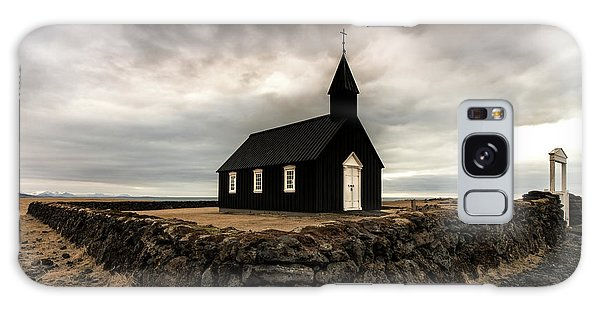 Iceland Galaxy S8 Case - Little Black Church by Larry Marshall
