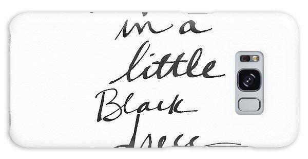 Dress Galaxy Case - Little Black Dress - Art By Linda Woods by Linda Woods