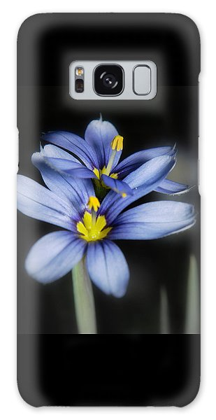 Little Blue Flowers Galaxy Case