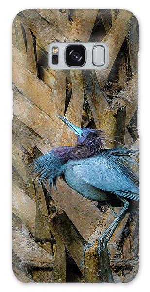 Little Blue Heron Galaxy Case