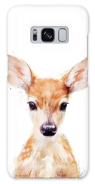 Little Deer Galaxy Case by Amy Hamilton