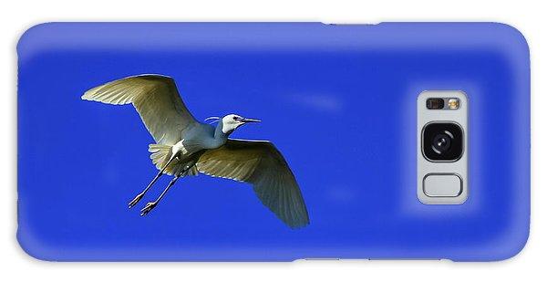 Little Egret, Egretta Garzetta Galaxy Case