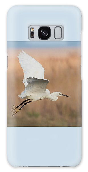 Little Egret Galaxy Case