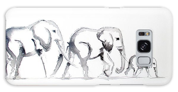 Little Elephant Family Galaxy Case