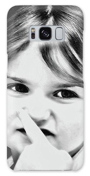 Little Emma Galaxy Case by Rena Trepanier