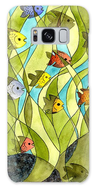 Little Fish Big Pond Galaxy Case
