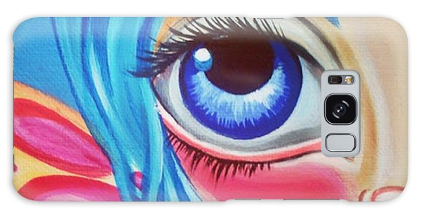 Pop Art Galaxy Case - Little forget Me Not Fairy 🌸 by Jaz Higgins