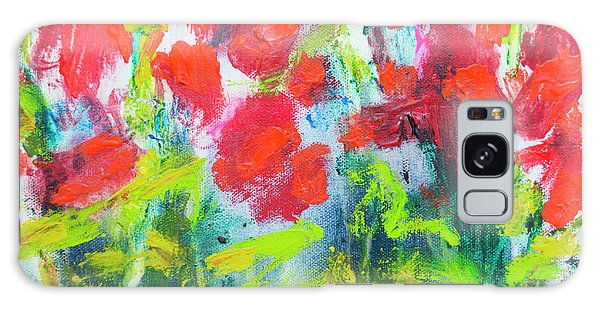 Galaxy Case - Little Garden 01 by Claire Desjardins
