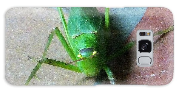Galaxy Case featuring the photograph Little Grasshopper by Denise Fulmer
