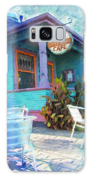 Little House Cafe  Galaxy Case