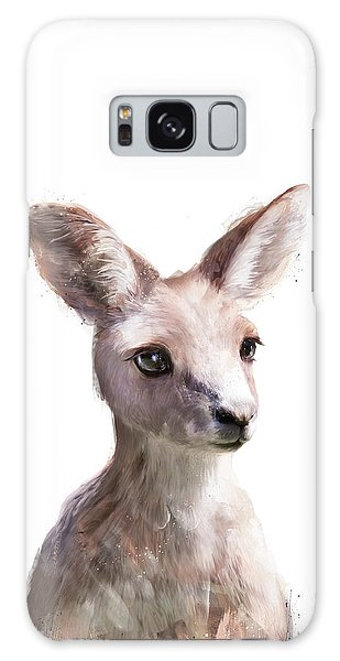Wildlife Galaxy Case - Little Kangaroo by Amy Hamilton