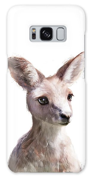 Animal Galaxy S8 Case - Little Kangaroo by Amy Hamilton