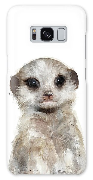 Meerkat Galaxy S8 Case - Little Meerkat by Amy Hamilton