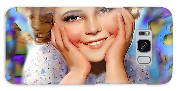 Little Miss Shirley Galaxy Case