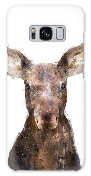 Wilderness Galaxy Case - Little Moose by Amy Hamilton
