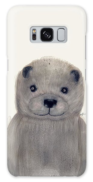 River Otter Galaxy Case - Little Otter by Bri Buckley