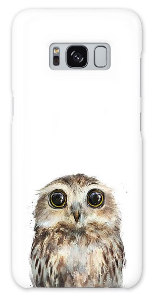 Owl Galaxy Case - Little Owl by Amy Hamilton