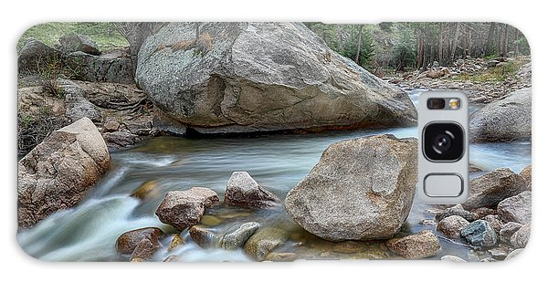 Little Pine Tree Stream View Galaxy Case by James BO Insogna