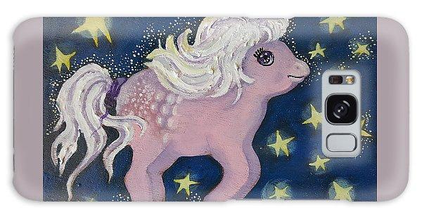 Little Pink Horse Galaxy Case by Rita Fetisov