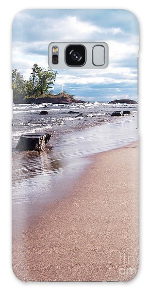 Little Presque Isle Galaxy Case by Phil Perkins