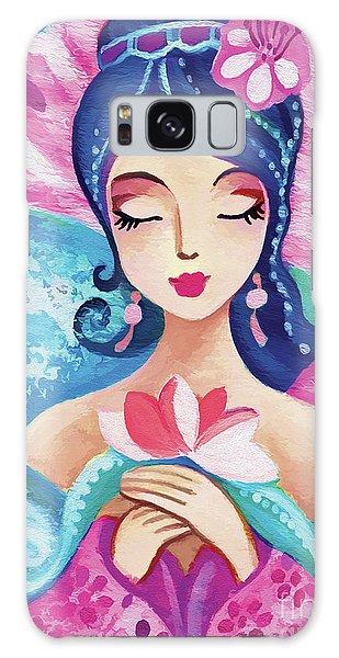 Little Quan Yin Mermaid Galaxy Case