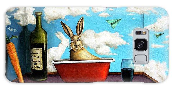 Little Rabbit Spirits Galaxy Case by Leah Saulnier The Painting Maniac
