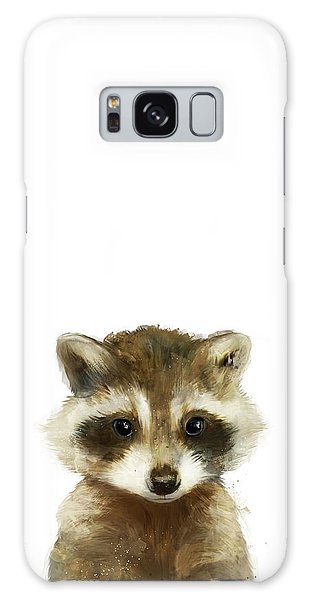 Wildlife Galaxy Case - Little Raccoon by Amy Hamilton