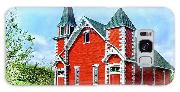 Wellsboro Galaxy Case - Little Red Country Church by Carolyn Derstine
