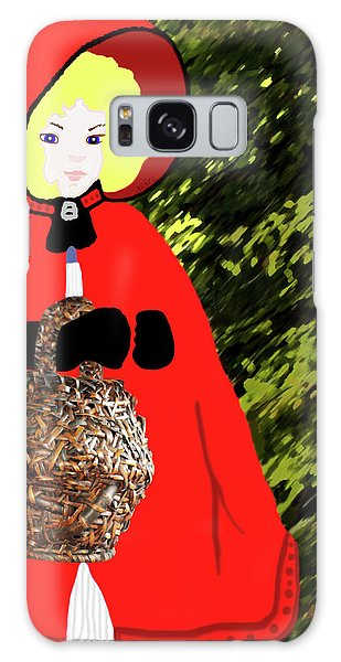 Little Red Riding Hood In The Forest Galaxy Case