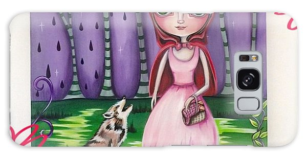 Fantasy Galaxy Case - little Red Riding Hood Painting by Jaz Higgins