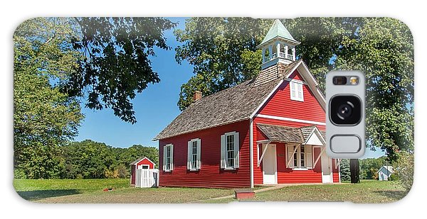 Little Red School House Galaxy Case