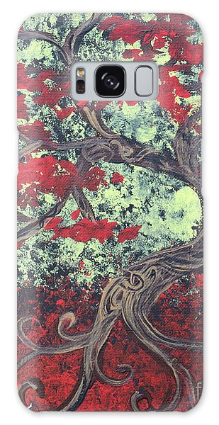 Little Red Tree Series 3 Galaxy Case