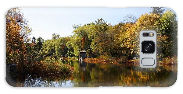 Little Shawme Pond In Sandwich Massachusetts Galaxy Case