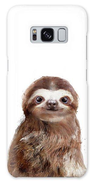 Wild Animals Galaxy Case - Little Sloth by Amy Hamilton