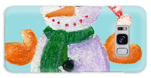 Little Snowman Galaxy Case