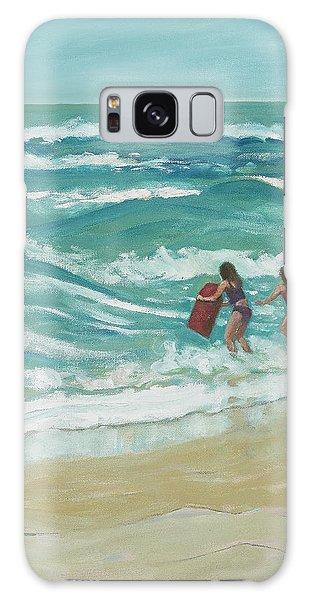 Little Surfers Galaxy Case