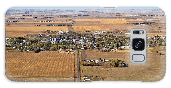 Little Town On The Prairie Galaxy Case