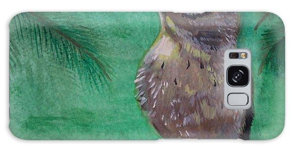 Little Warbler Galaxy Case by Leslie Allen