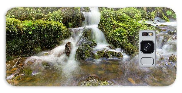 Galaxy Case - Little Waterfalls Along Wahkeena Creek by David Gn